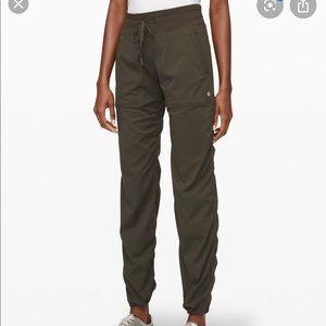 Lululemon Dance Studio Pants III Olive  Unlined